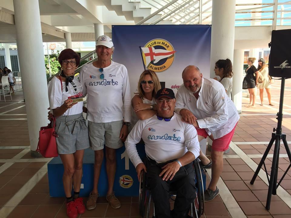 Enrique Vives, bronce en el Campeonato de España de Hansa 303 en Almería