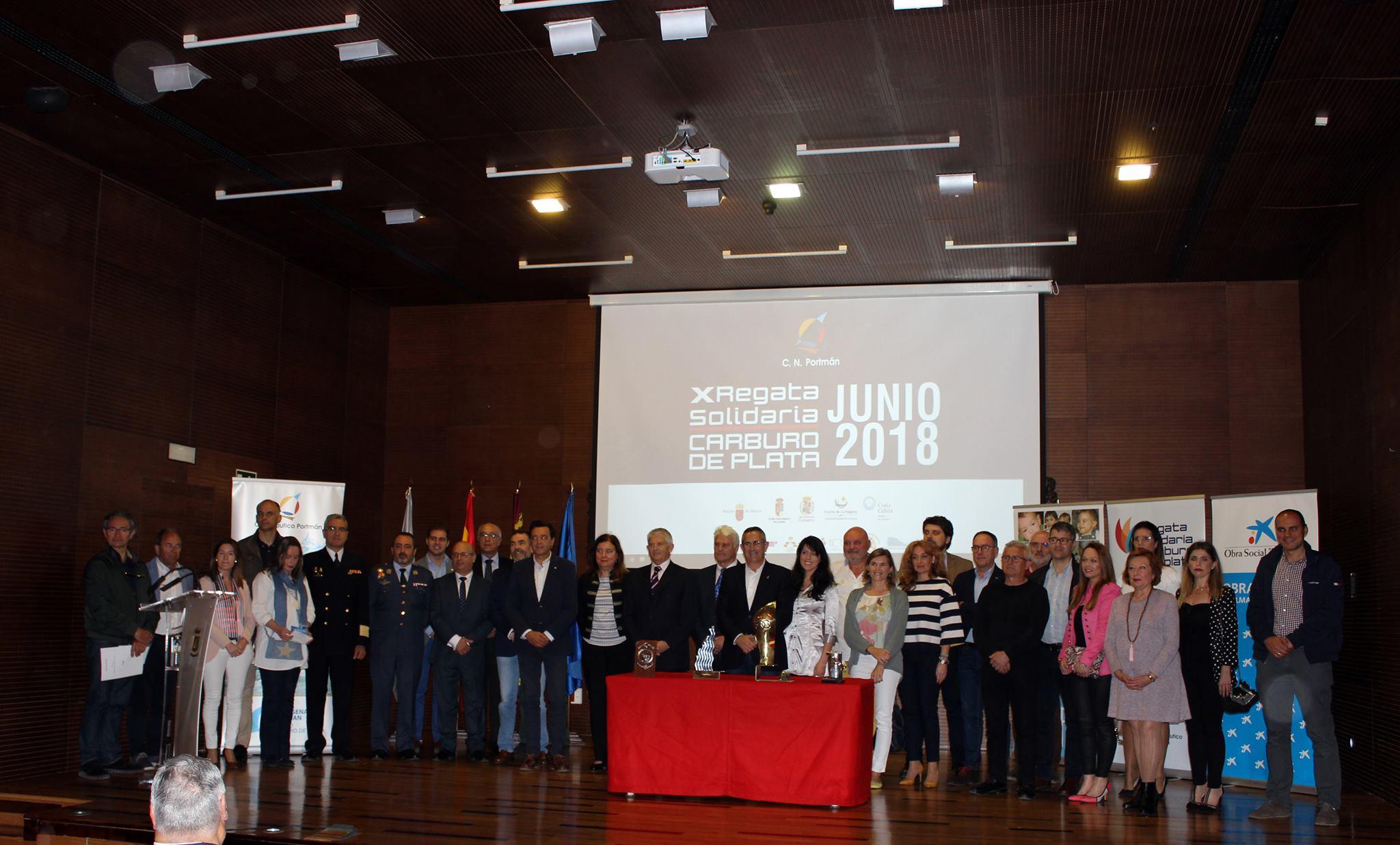 Presentación «X Regata Carburo de Plata», conSomos NupaenAyuntamiento de La Unión