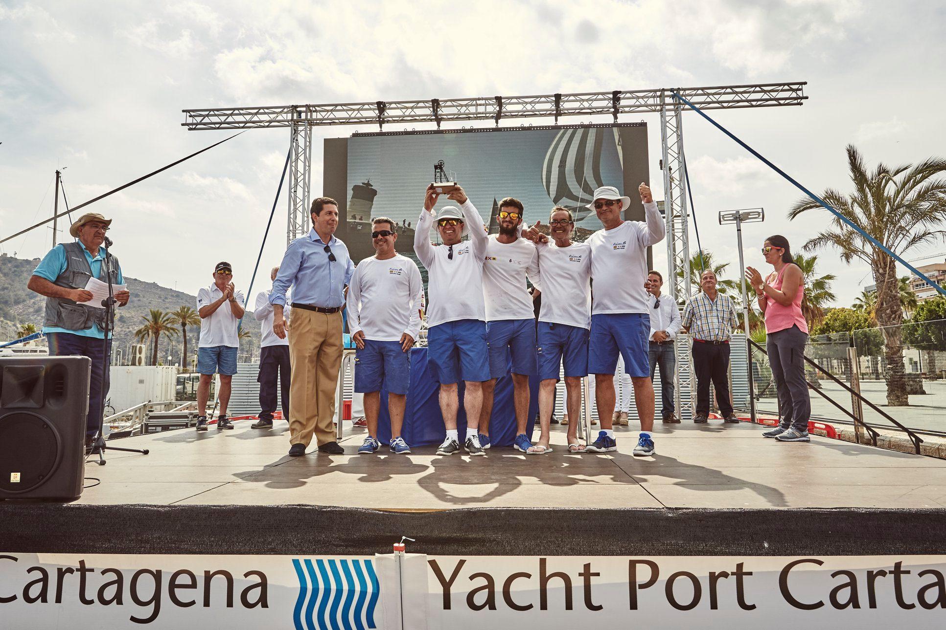 Agradecimiento a Yacht Port Cartagena
